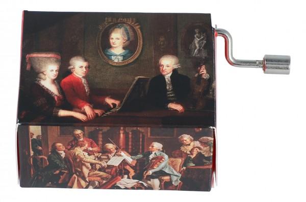 Melodie Wiegenlied, Motiv Familie Mozart