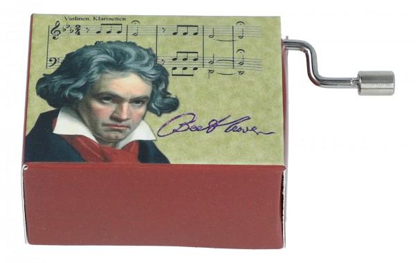 Melodie Symphonie No.6 Part 2, Motiv Beethoven