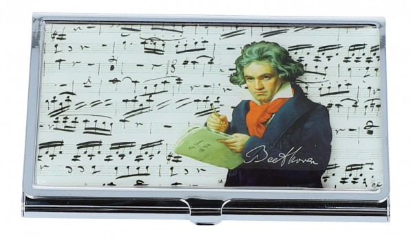 Visitenkartenetui Ludwig van Beethoven