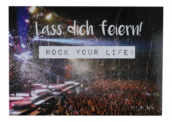 Postkarte, Rock your life