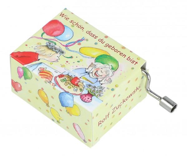 Spieluhren mit Kinderliedern von Rolf Zuckowski