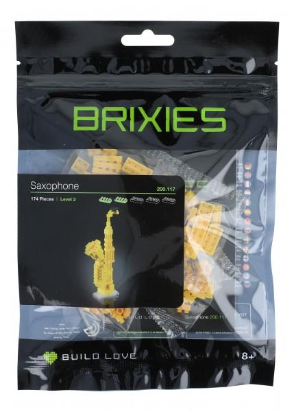 Brixies Mini-Collectionen / Microsized building blocks, Saxophon