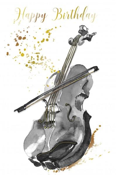 DK Happy Birthday Violine