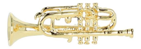 Pin, ohne Box, Trompete