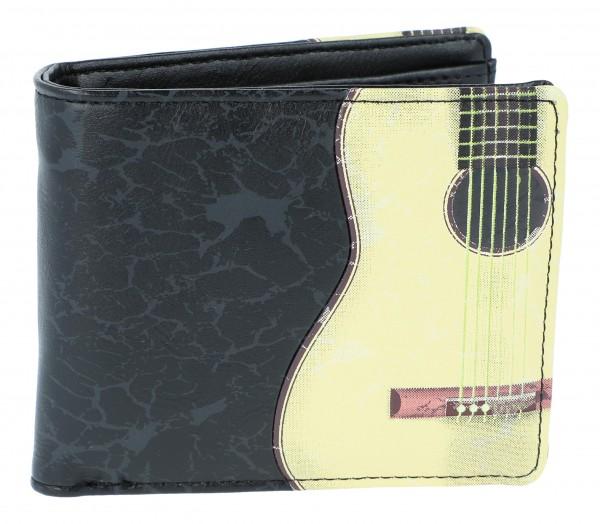 Geldbörse Gitarre schwarz