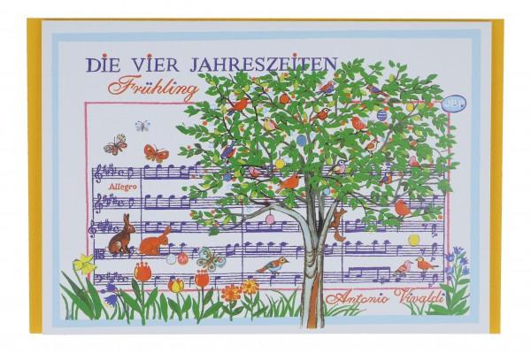 Doppelkarten, Die vier Jahreszeiten von Antonio Vivaldi
