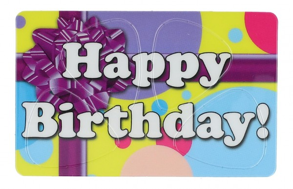 Pikcard Happy Birthday
